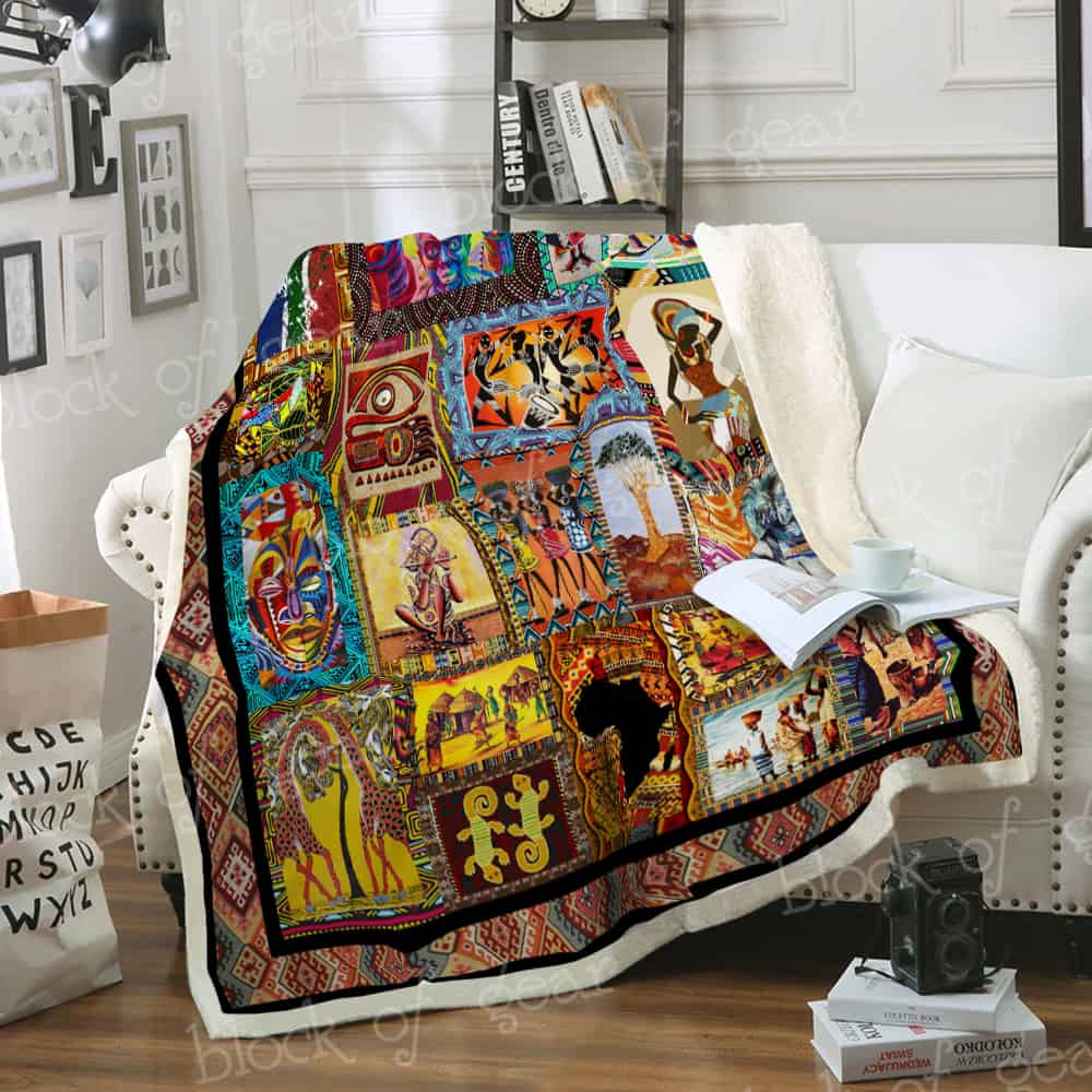 Back To My Roots Sofa Blanket Th597 Block Of Gear